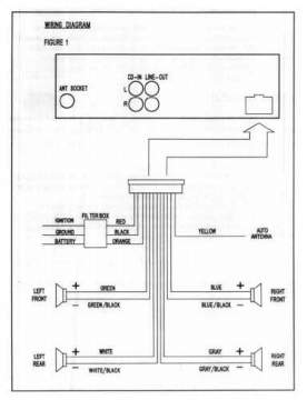 installdiagram application wiring diagrams for cas radios & systems, us gm 1964 ford falcon radio wiring diagram at virtualis.co
